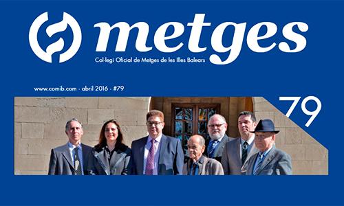Ya puedes leer el número de abril de la revista colegial, Metges 79
