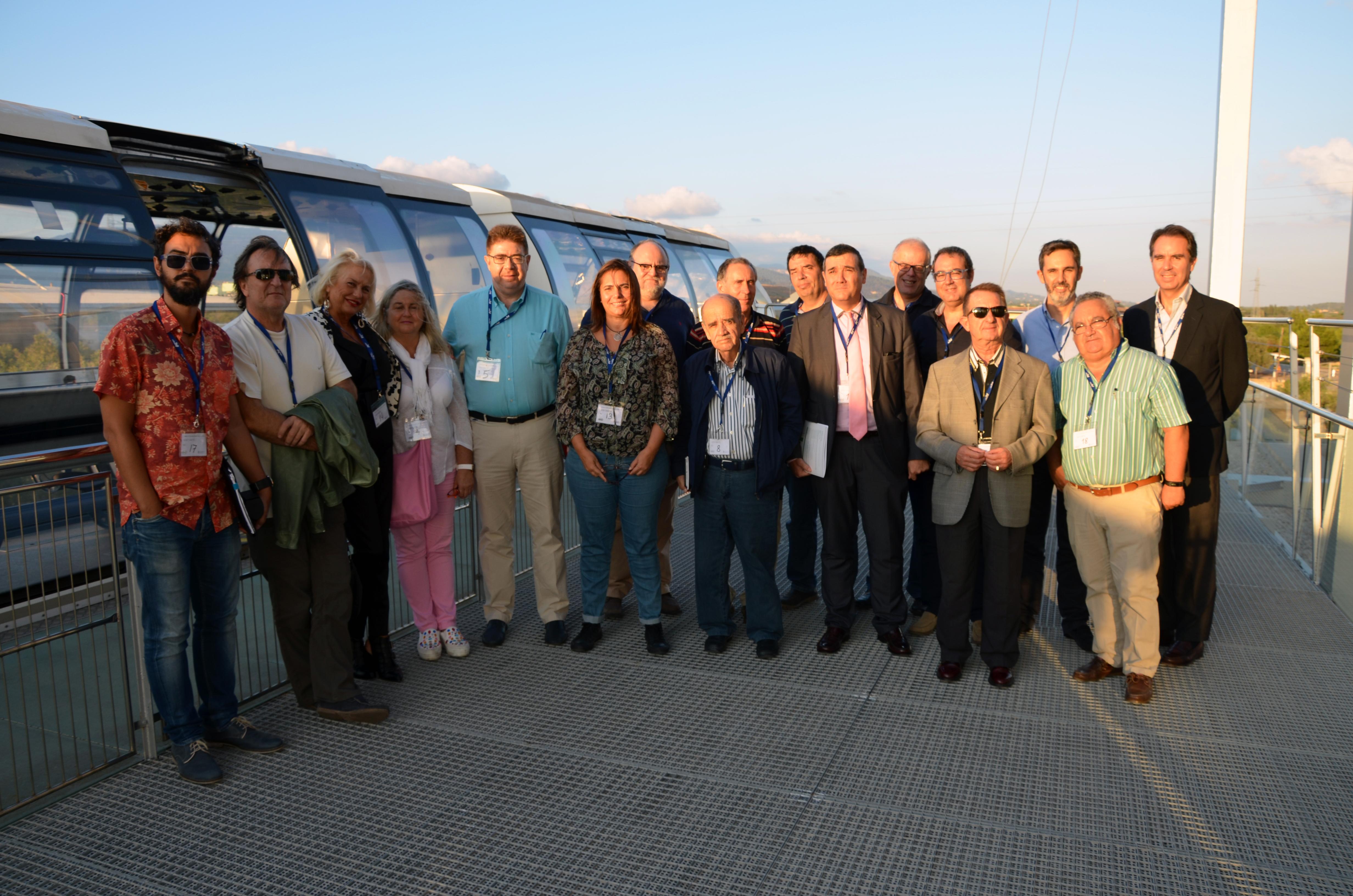 La Junta de Gobierno del Comib visita las instalaciones de TIRME