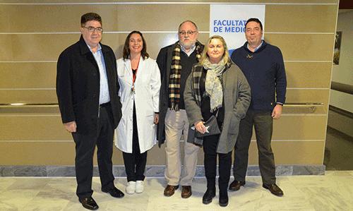 El Comib visita las instalaciones de la Facultat de Medicina