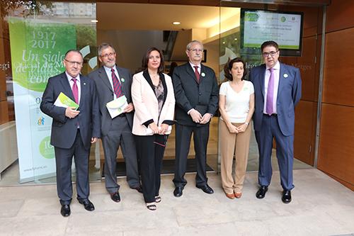 Conmemoración del centenario de la Fundación para la Protección Social en el Comib