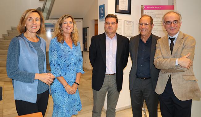 Margalida Gili, Patricia Gomez, Jordi Reina, Juli Fuster y Macia Tomas. 600x