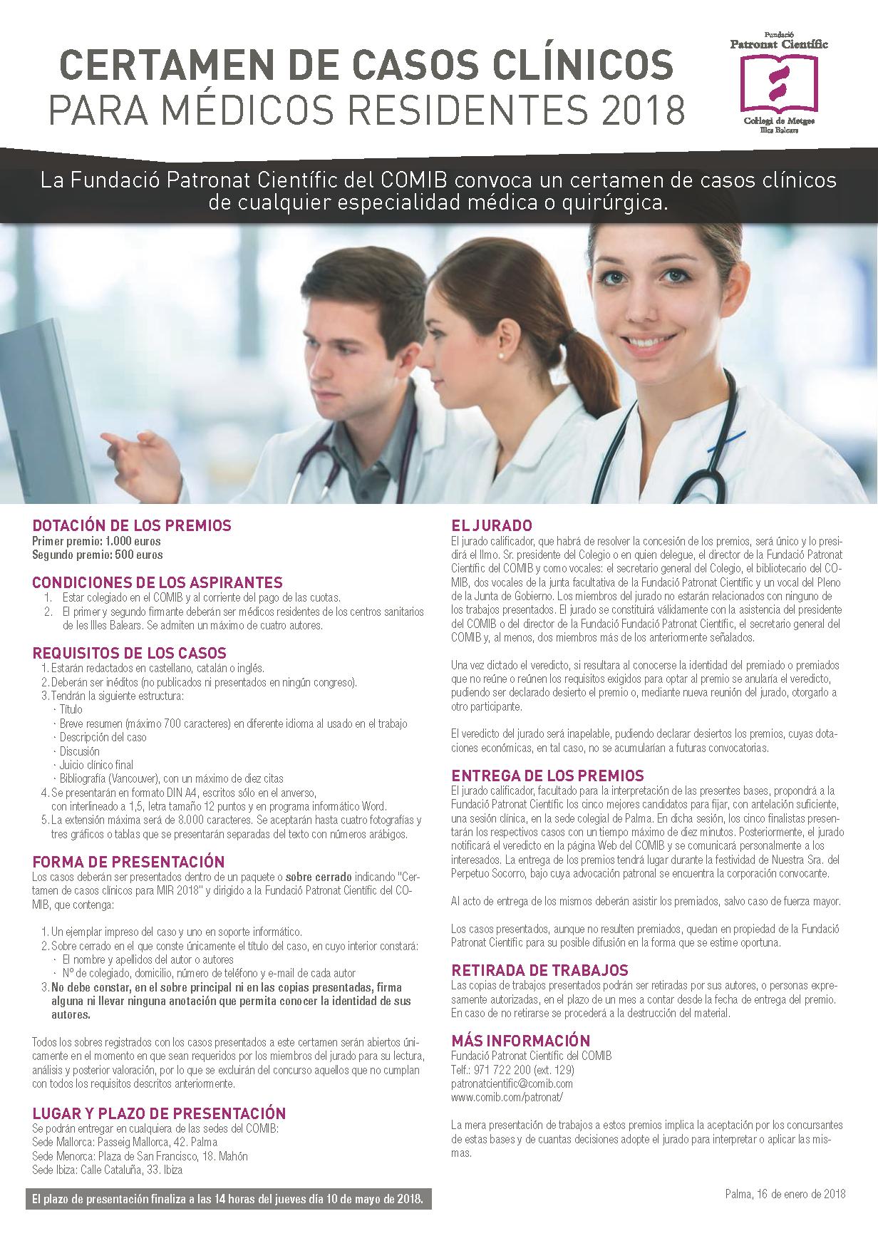 II Certamen de casos clinicos residentes