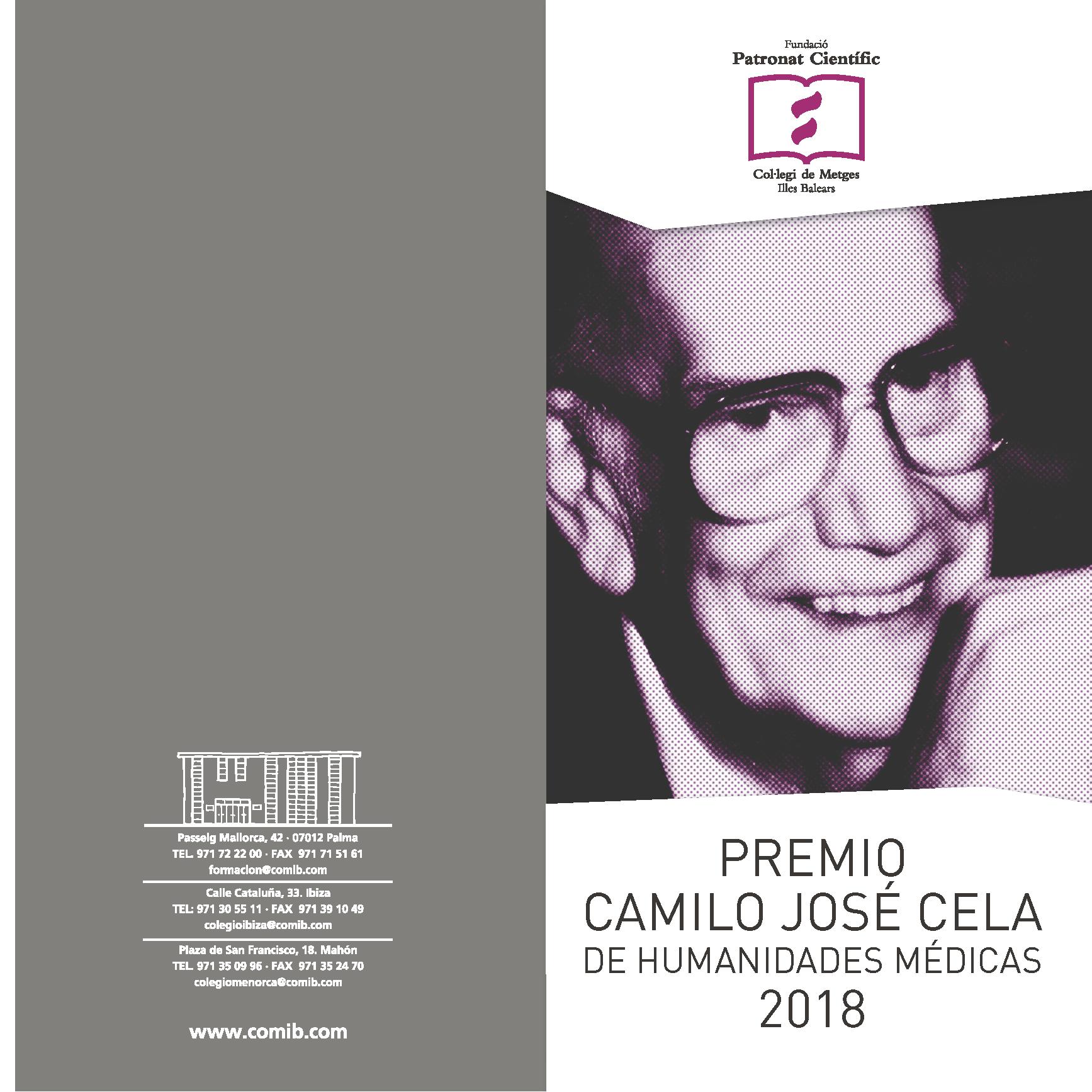 Premio Camilo Jose Cela 2018_1