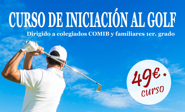 Curso Golf COMIB iniciacion 2
