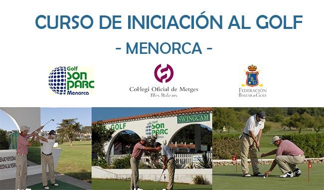 Cartel golf menorca 650