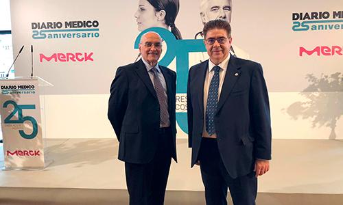 El Dr. Enric Benito, premiado como uno de los 25 embajadores médicos de la sanidad española por Diario Médico