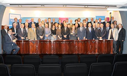 El IX Encuentro del Órgano Colegial Asesor de Mutual Médica reúne en Palma a los presidentes de Colegios Médicos
