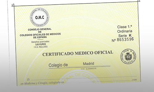 El Col·legi de Metges advierte que el certificado médico de Correos no puede considerarse oficial