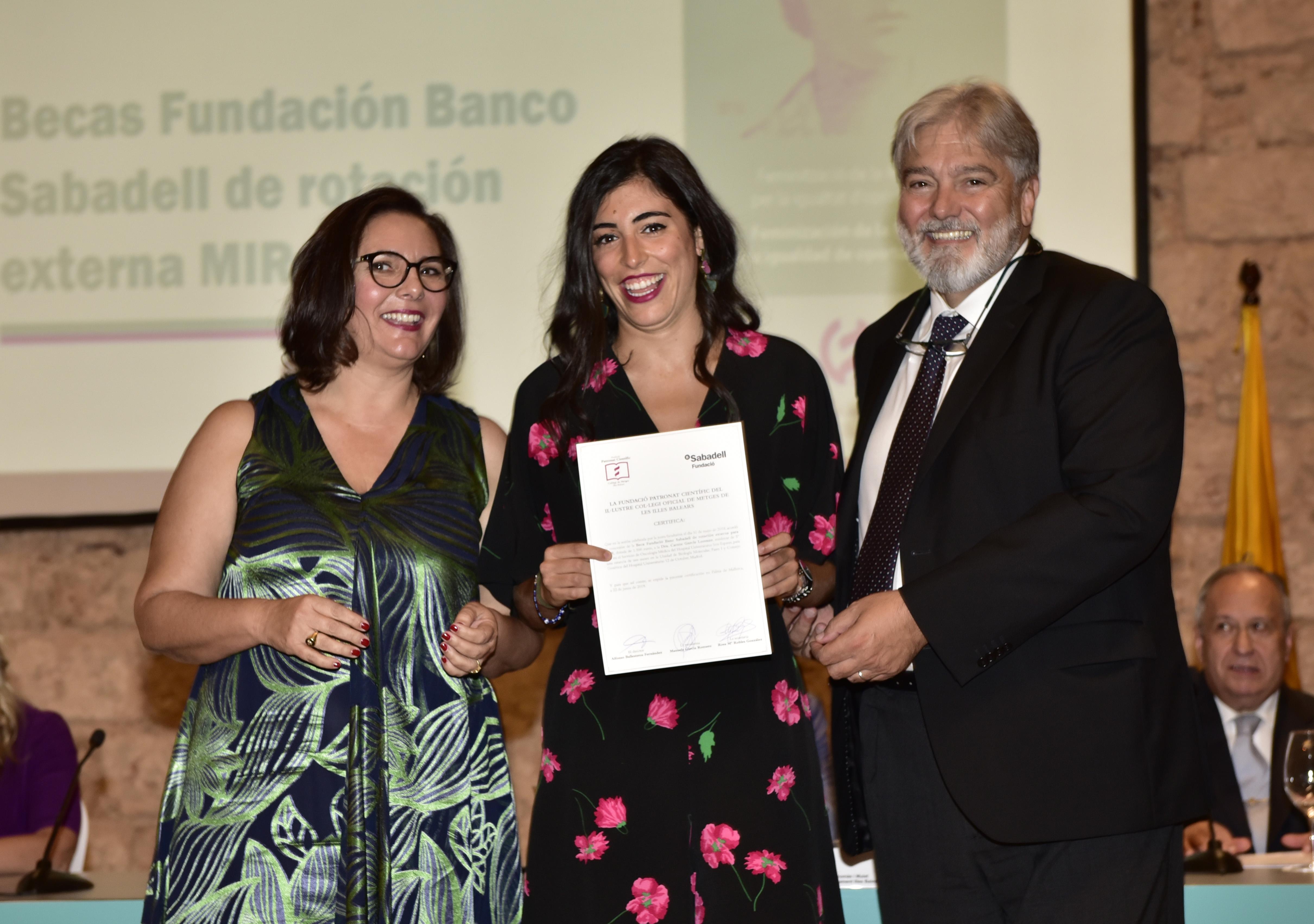 Carme Garcia Lorenzo, beca Fundacion Sabadell