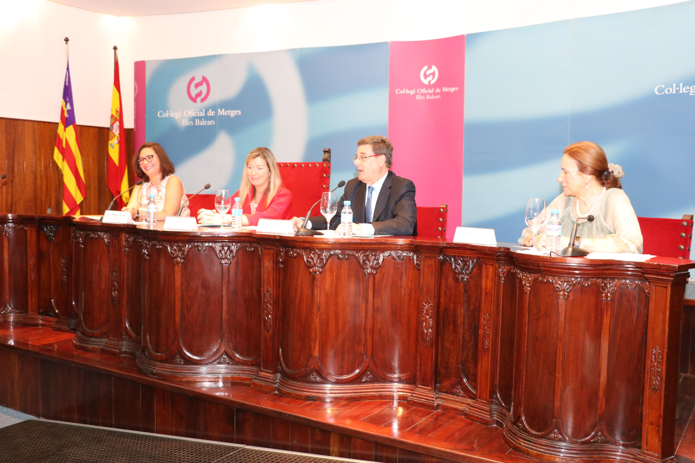 Manuela García, Patricia Gómez, Jordi Reina y Mercé Balcells