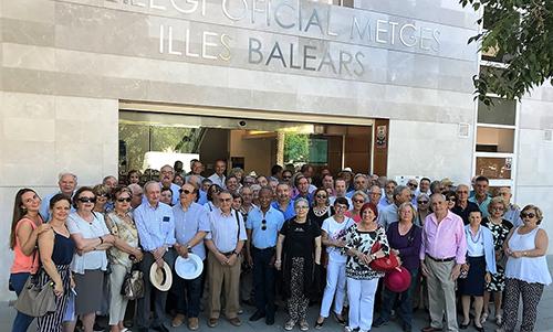 Ciento cincuenta participantes en la XXI Trobada de Médicos Jubilados del COMIB