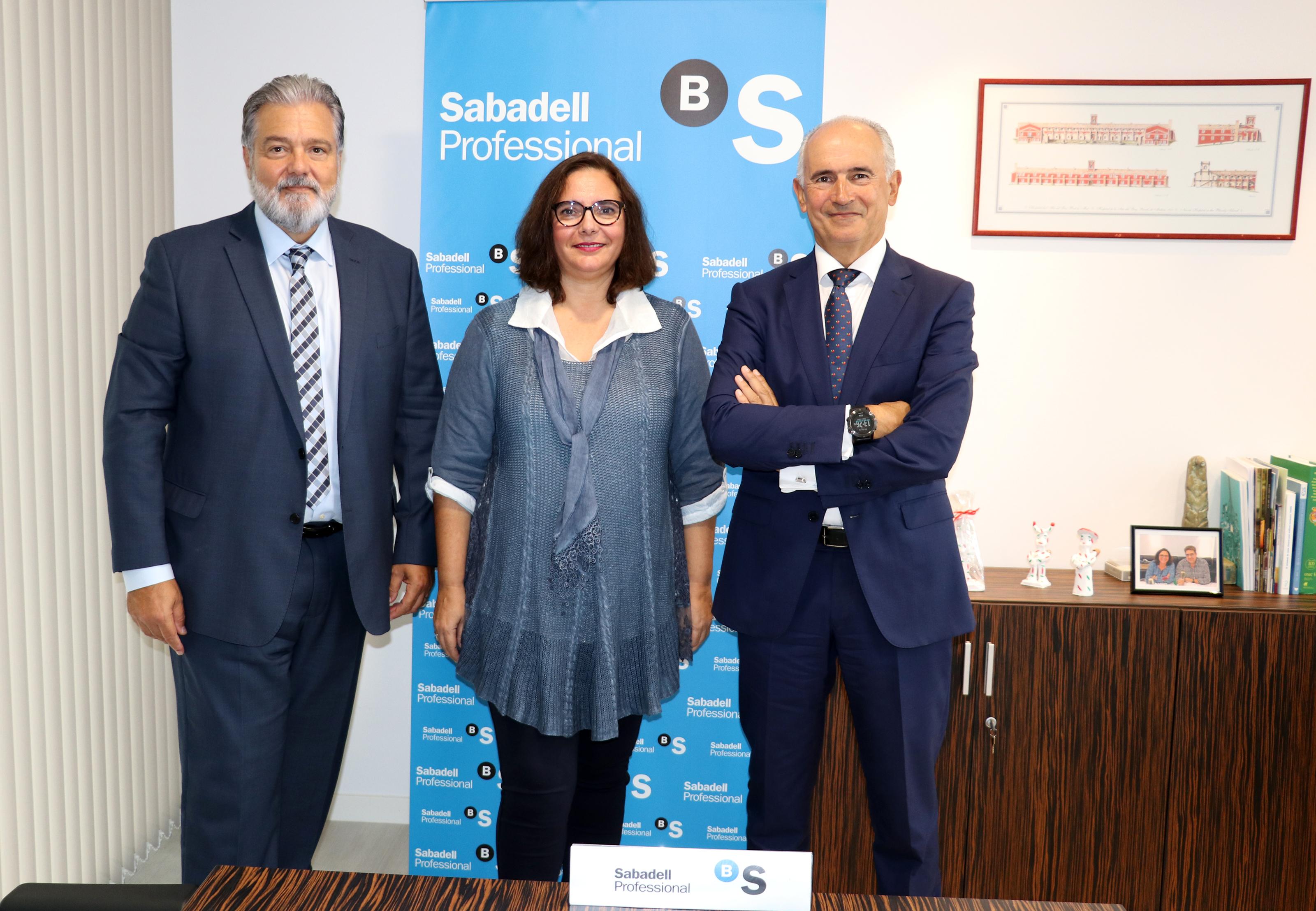 Pedro Ballester, Manuela García y Jaime Matas Vallverdú