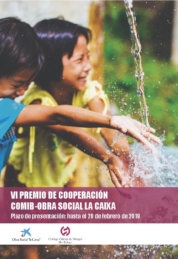 cartel VI premio cooperacion