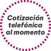 Cotización telefónica al momento