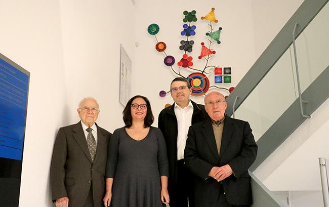 José Mª Sevilla, Manuela García Romero, Jaume Falconer y Jordi Gayà.