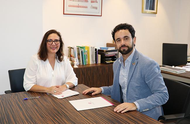 Dra. Manuela García Romero e Ismael Gutiérrez