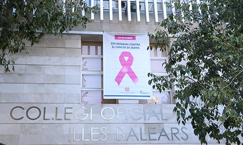 El Col·legi de Metges de Balears se une a la conmemoración del Día Mundial del Cáncer de Mama