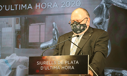 El colectivo sanitario recibe el Siurell d'Honor Pere A. Serra